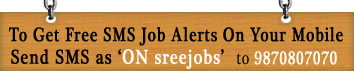 Free SMS Job alerts